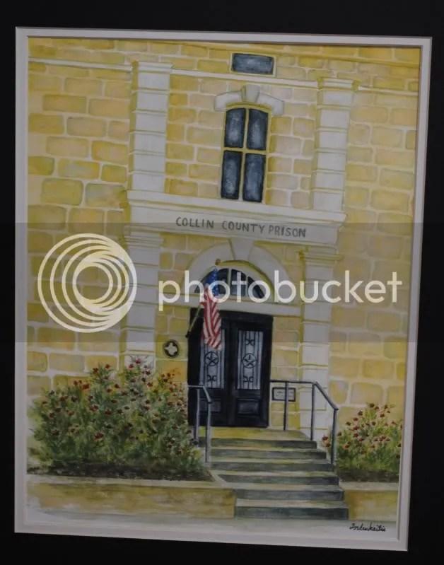 Old Collin County Prison by Toni Andrukaitus