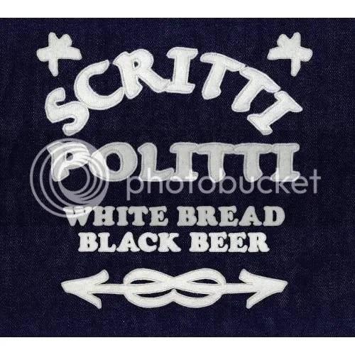 Image of Scritti's White Bread Black Beer album