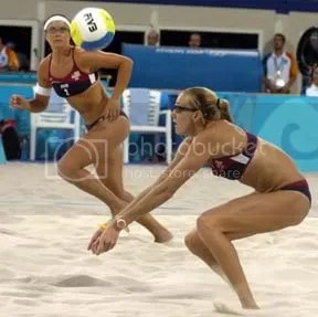 US beach volley girls