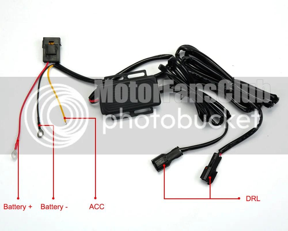LED Daytime Running Light For Mazda 3 Axela Fog Lamp