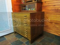 Fly Tying Material Cabinet