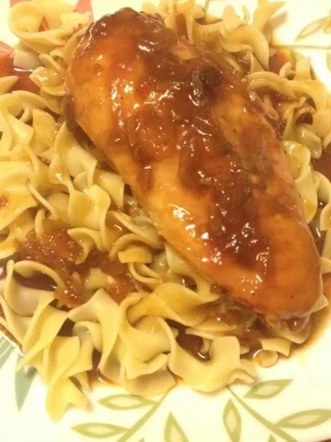 Crockpot Sticky Chicken