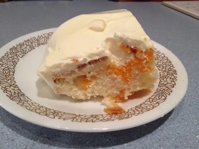 Duncan Hines Orange Creamsicle Cake Recipe