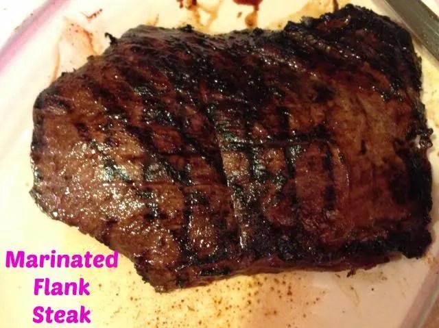 Recipe: Marinated Flank Steak