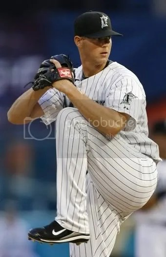 Rick VandenHurk.  If you like your pitchers tall, cute, and Dutch.