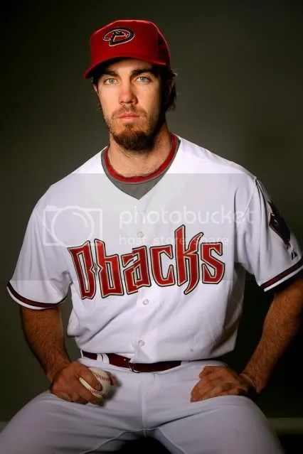 Way to clean up for picture day, Danny Haren.