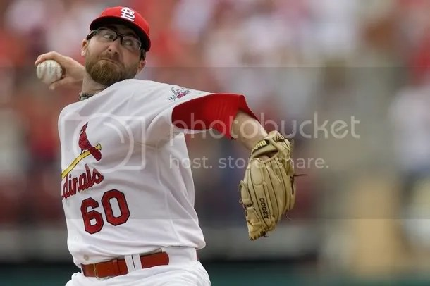 Jason Motte.  I think he has a face under all that, but I cant be sure.