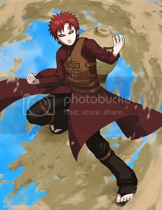 Sennin Naruto Vs Kazekage Gaara   NinjaManager Forums