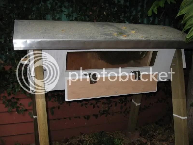 Top Bar Hive With Viewing Door