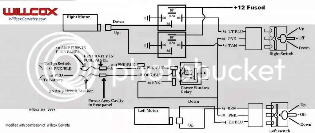Master Power Window Switch Wiring Diagram
