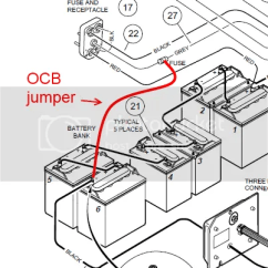 Club Car Relay Wiring Diagram What Is An Exploded 1997 Ds Electrical Issues Shorted During Obc Stud Install This Will Energize The Charger S 48v If Doesn T Come On It Could Be Bad Connections Or