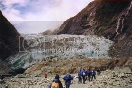 Sample picture for scroll box: Franz Josef Glacier, New Zealand