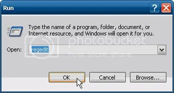 Regedit , tweak registry windows XP