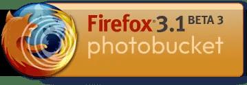 FireFox 3.1 Beta 3