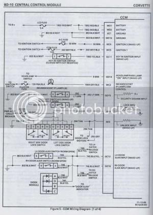 1990 instrument cluster wiring diagram  CorvetteForum