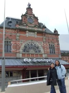 Groningen, saat Emy ke Belanda 2007