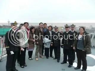 Alumni SMA Taruna Nusantara yang studi.bekerja di Belanda dan yang menjadi kru KRI Frans Kaisiepo