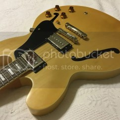 Epiphone Es 335 Pro Wiring Diagram Access Control Door Harness Schematic Sold Natural Fat Neck Serious Upgrades Pots
