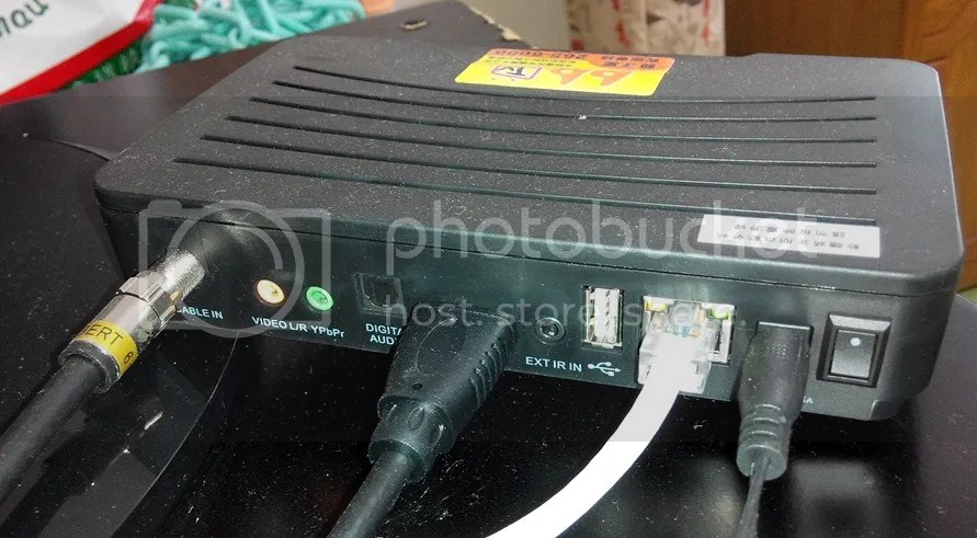 臺南雙子星機上盒之間的網路線用途? - PCDVD數位科技討論區