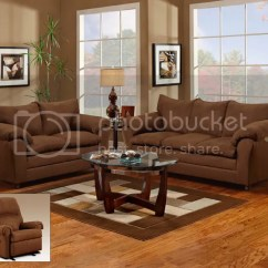 Leather Bucket Chair Best Inexpensive Beach Chairs Chocolate Brown Sofa, Love Seat & Reclining 3 Piece Living Room Set 1150 | Ebay