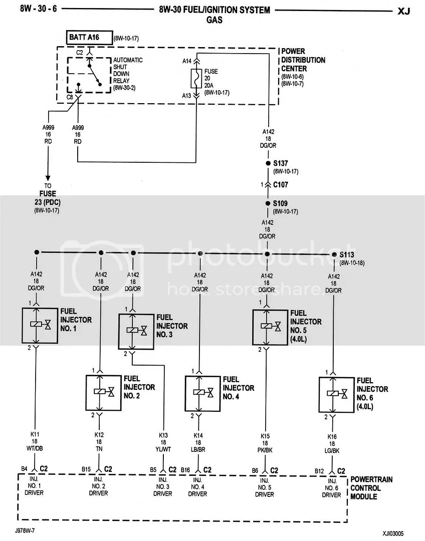 hight resolution of jeep fuel injector wiring wiring diagram schematic95 jeep cherokee fuel injector wiring diagram wiring diagram a6