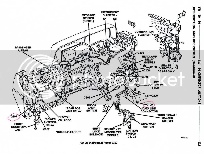 jeep xj transfer case wiring harness