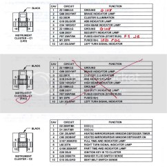98 Jeep Tj Wiring Diagram 2008 Pontiac Vibe Radio Xj Cluster And Not Working - Cherokee Forum