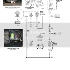 99 Jeep Xj Wiring Diagram Yamaha Gas Golf Cart Heater Blend Door Not Switching From Hot To Cold Air - Cherokee Forum