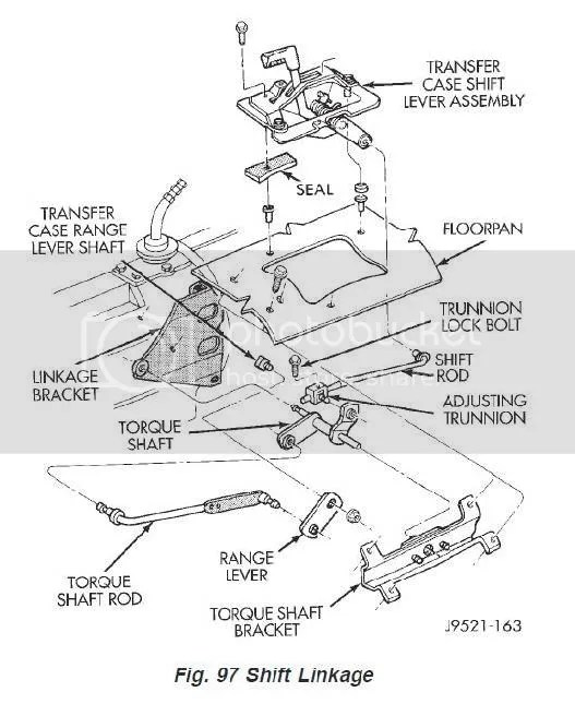 Service manual [How To Install Transfer Case Linkage On A