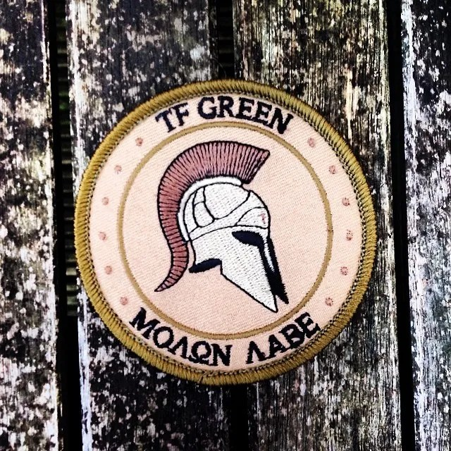 #tfgreen #molonlabe #trhblog #pbthereptilehouse #sverige #madeinsweden Awesome TF Green team patch from @seraphgreen ! Thanks very much ! :) photo RVZPP6AWLY3_zpsrsnwftpg.jpg