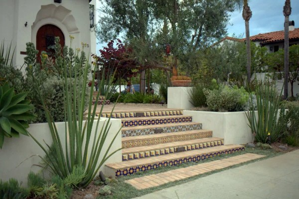 terraced spanish colonial revival