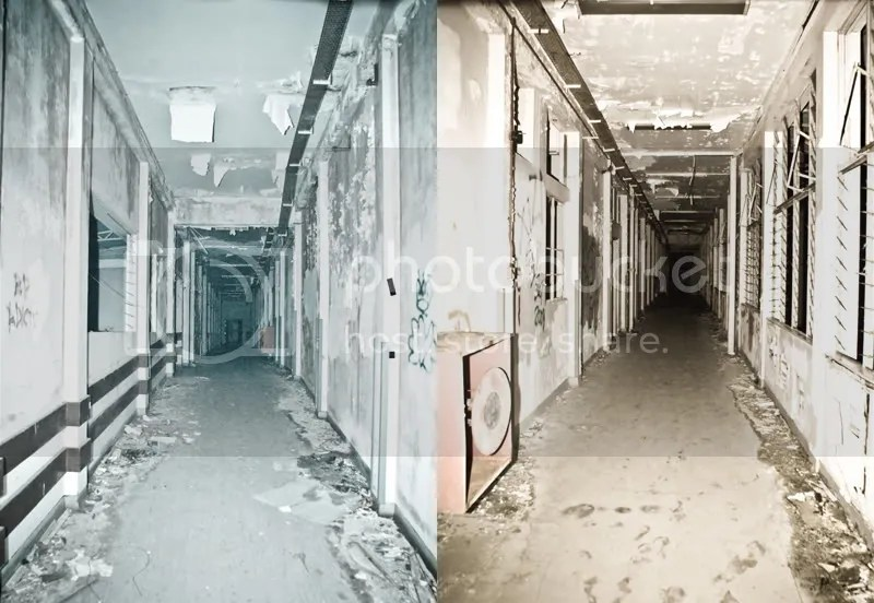 The Thrill Chillers caught an apparition at the end of this corridor. Genuine or a manipulated photo? You decide.