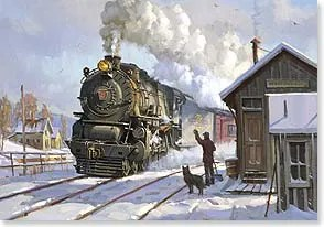 View Topic Railroad Christmas Cards