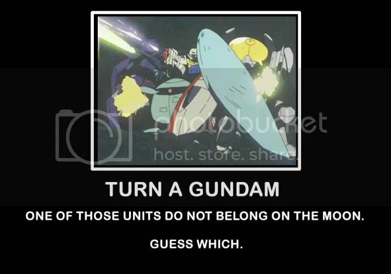 mahiroo,turn a gundam,flat,kapool,turn,a,gundam,firing,beam,rifle,lol,squad,wrong,wrong,place,time
