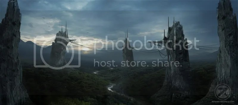 Thevalley 170 Matte Paintings de babar