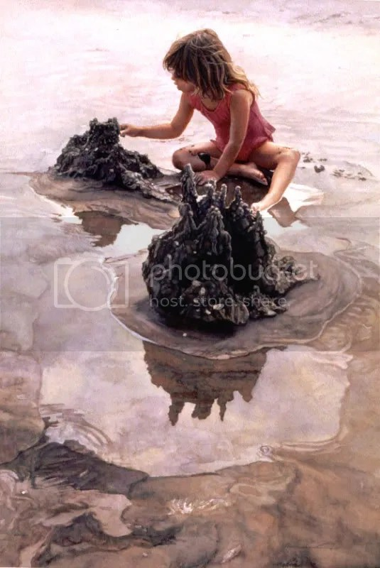 Hanks Steve Castles In The Sand As incríveis aquareleas de Steve Hanks