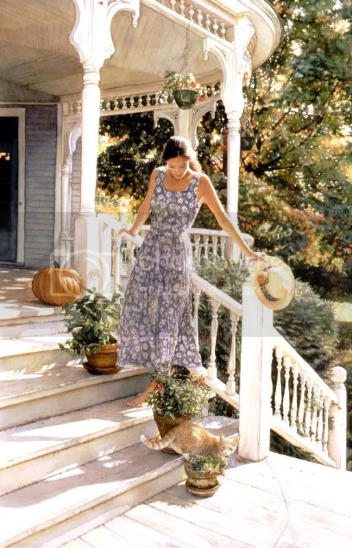 a sense of belonging large As incríveis aquareleas de Steve Hanks