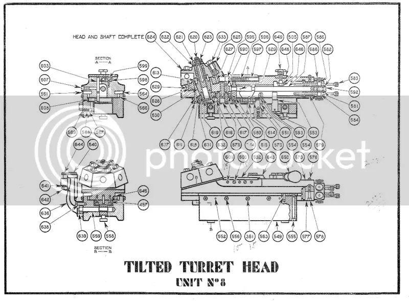 turret parts diagram