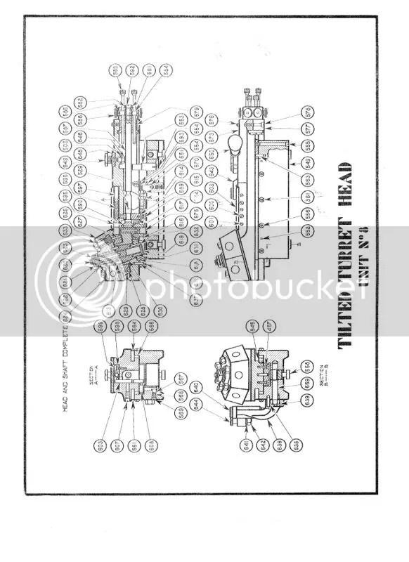 Parts breakdown for Hardinge 2nd op lathe?