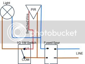 Wiring PIR \ Light \ Light Switch | DIYnot Forums