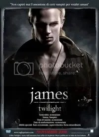 James (Cam Gigandet) - Twilight Movie
