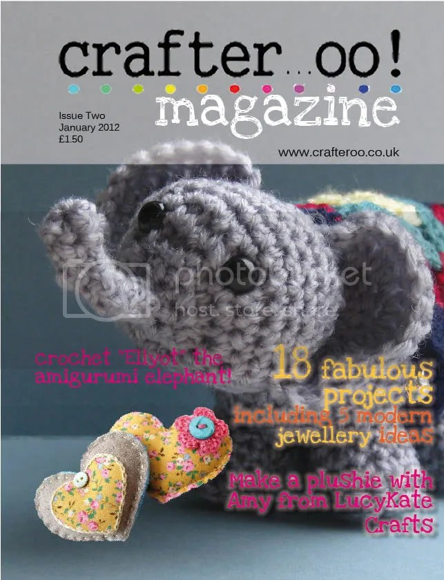 Crafteroo front cover - issue 2