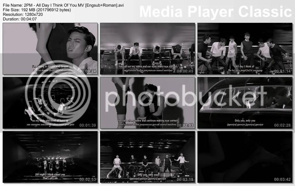 All Day I Think Of You-2PM Lyrics - YouTube
