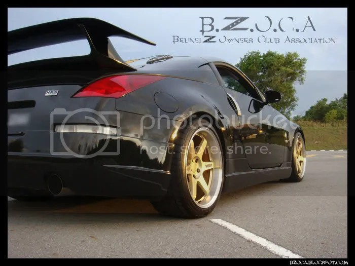Anyone With Esprit Wing Nissan 350Z And