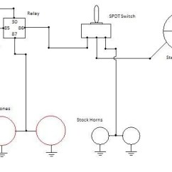 Hella Supertone Wiring Diagram Deming Chain Reaction Dual Fiamm Horns On R90/6 With Relay