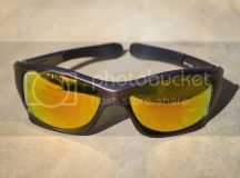 Oakley Pitbull Sunglasses- Gunmetal w/Fire Iridium lenses ...