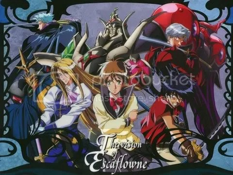 Escaflowne series group