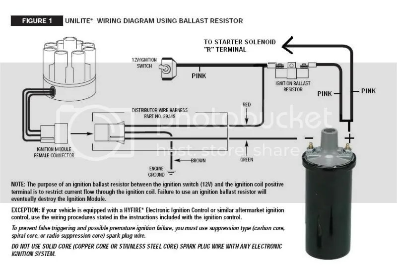 Another Ballast Resistor Question CorvetteForum Chevrolet