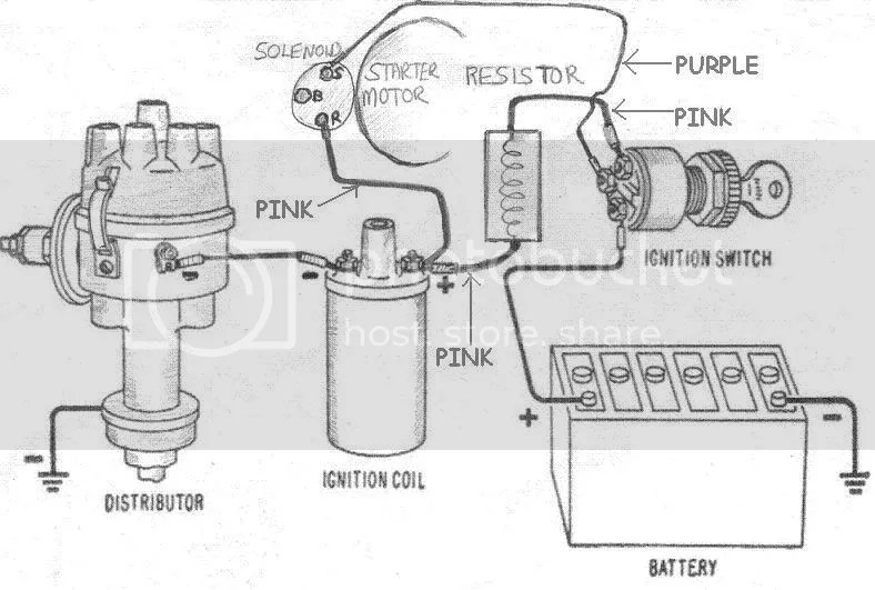 how to wire a ballast resistor diagram, Wiring diagram