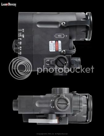 Prototipo láser multifunción LDI DBAL-D2.